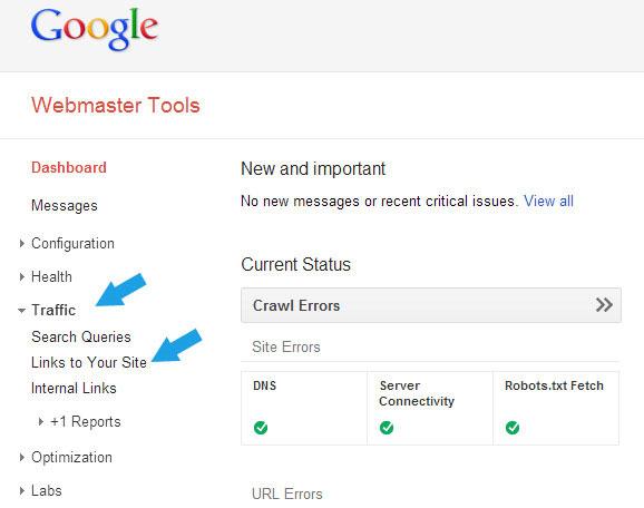 ورود به وب مستر گوگل